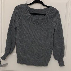 Cute gray sweater